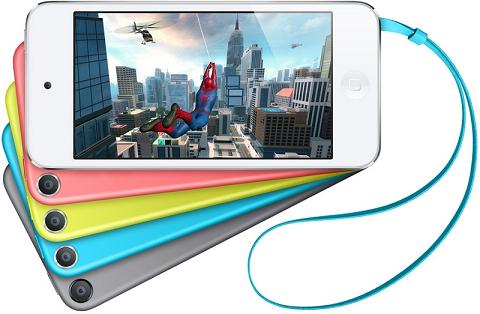 Apple nâng cấp iPod Touch bằng chip A8 , Camera 8MP